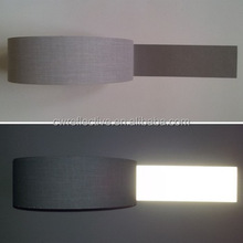 hi vis clear reflective strips luminous tc grey tape for safety clothes