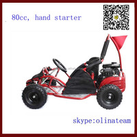 cheap 80cc gas children go kart off road for sale