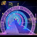 Multi color Christmas outdoor decorative light arches