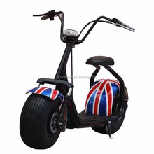 2016 newest fashion 2 wheel electric scooter 48v / electric citycoco scooter / fat wheel electric scooter