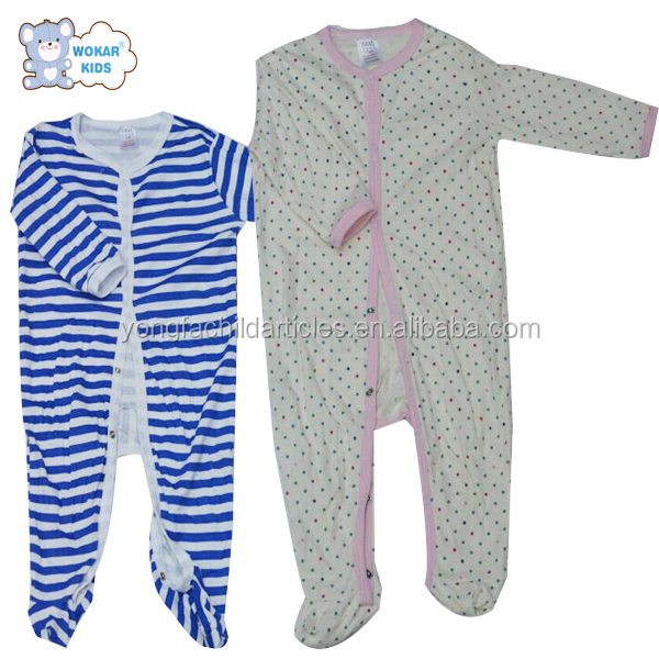 High Quality Cheap Organic Cotton Baby Rompers Wholesale Baby Clothes