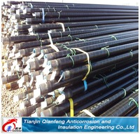for gas cheaper pipe tianjinqianfeng 3 P E steel pipes