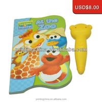 China cheap funny animal noise making sound book toys