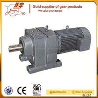 R Series AC Motor Helical Gear Motor / Gearbox for Lifter