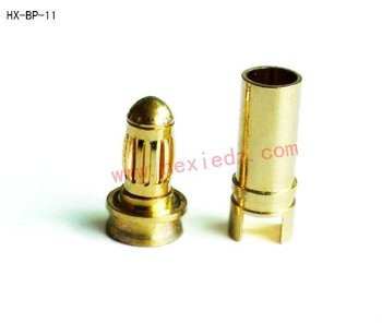 3.5mm gold bullet connector male and female used in Vehicles & Remote Control Toys