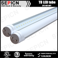 family lighting led tube light t8 13w dlc led tube with ul cul certified