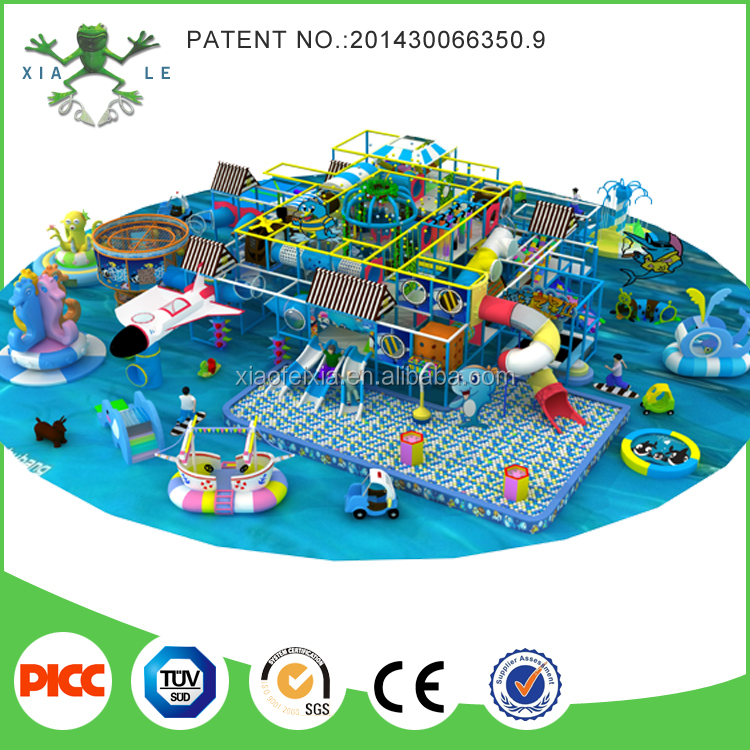 Indoor Playground Equipment Kids Play System Structure for Games