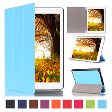 2015 New products Folding Stand tablet cover for ipad pro leather case