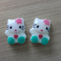 Small Cat shape hand soap skin whitening bath soap for babies