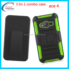 Hot&New military heavy duty mobile phone case for samsung galaxy ace 4 G313H