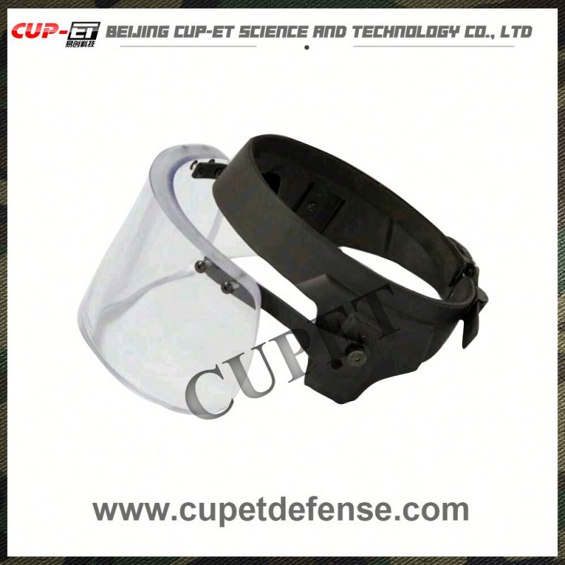 helmet safety ballistic helmet visor / face shield