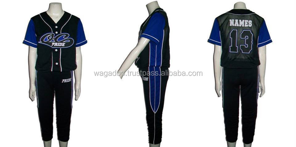 OC Pride (Black) - Softball Uniform