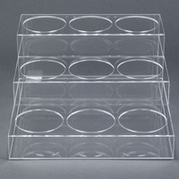 wholesale fasionable acrylic drink display for wine beer drinks