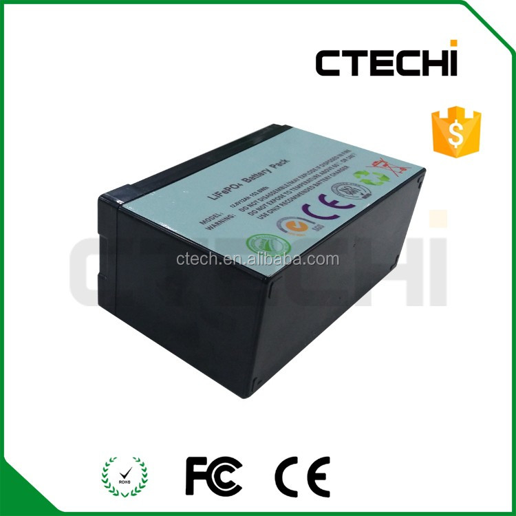 Sealed shell 12.8V LiFePO4 battery pack for energy storage battery