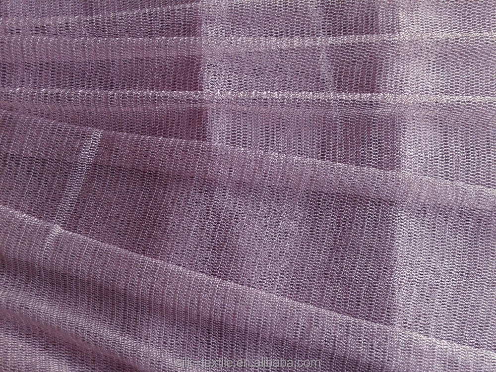 Dyed Pure Silk Tulle Fabric