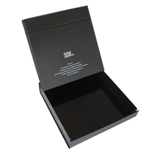 Custom printed magnetic closure lid foldable paper gift box