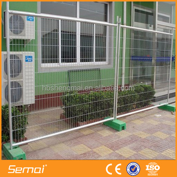 SEMAI Factory Supply Hot Sale Temporary Fence Panel Gate