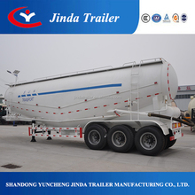 chinese cheap ttri axle three comparments 60 cbm bulk fly ash tanker semi trailer for hot sale