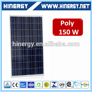 130w 135w 140w 160w 165w monocrystalline 150w 150w / 18bv solar panels for home use complete with low price