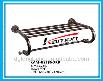 new and cheap Bronze Three Layer Brass towel bar KAM-882796