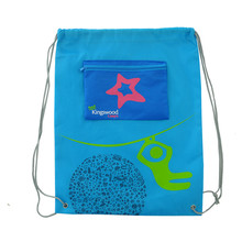 Wholesale Personalized Basketball Non Woven Drawstring Bag