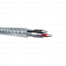 UL 1569 MC(AIA) Cable 600V Aluminum Alloy Conductors XHHW-2 AL as Inners with Bare Grounding Conductor Metal Clad Cable