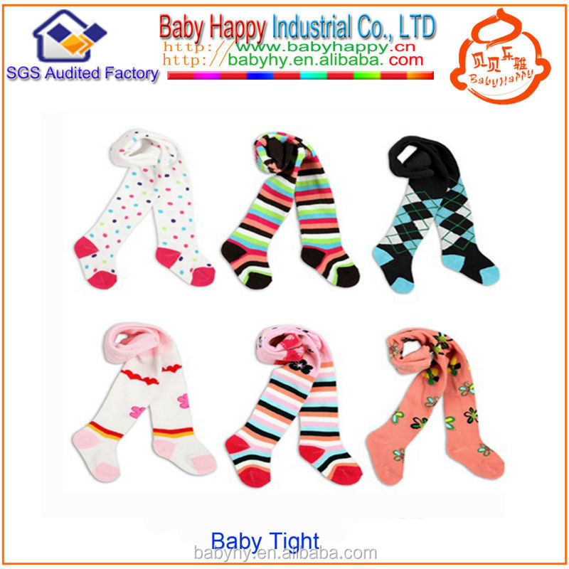 infant Baby Striped Tights