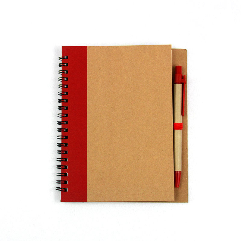 Spiral Bound Cover Small Spiral Bound Notebook With Pen Holder