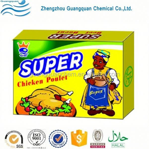 Factory price halal chicken bouillon cube with no msg