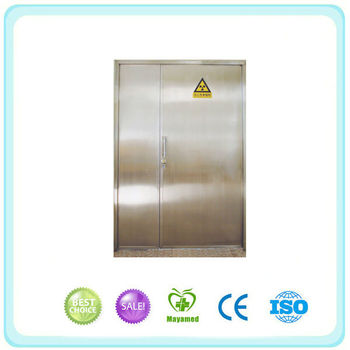 2015 Factory Manufacturer Medical X-Ray Radiation Protective Lead Door For Sale In Guangzhou China
