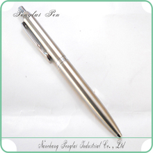 silver plated pen chrome silver logo chrome classic chinese pen