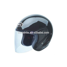 Chinese supplier selling solid and ABS open face helmet for electric motor