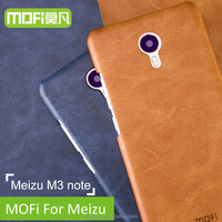 MOFi Back Cover Case for Meizu M3 Note, Note3, Phone Coque Leather Back Cover for Meizu M3 Note Case Cover