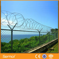 razor barbed wire fence/razor wire for chain link fence/BTO for sale