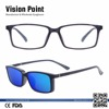 Wholesale TR90 Men Eyeglasses Rectangular Polarized