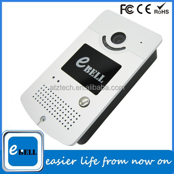 ATZ eBELL Top Quality Network Doorbell WiFi Video Doorbell WiFi IP Doorbell in Stock