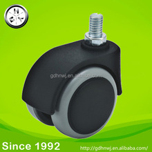 2 inch office chair locking casters Threaded screw chair casters