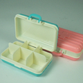 Travel Box Shaped Pill Case Fancy Pill Box