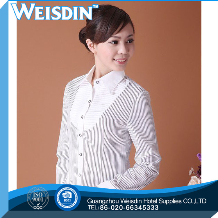 In-Stock Items solid color Eco-Friendly formal women silk shirts