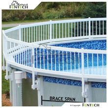 PVC beautiful high quality strong temporary swimming pool fence