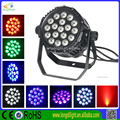 DMX512 stage lighting 18*10W RGBW 4in1 waterproof led par