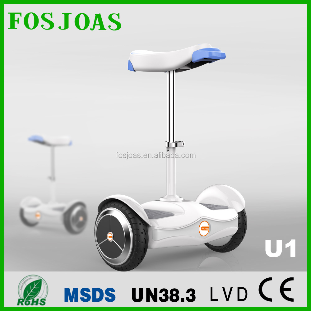 NEWEST AIRWHEEL !!!Fosjoas <strong>U1</strong> electric mini smart drafting scooter with seat for adults with App