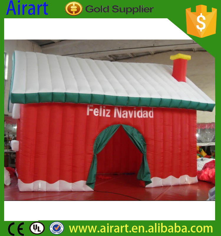 Customized inflatable bounce castle house, cheap inflatable bouncer christmas for sale