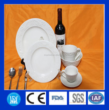 Good quality round plate , porcelain tableware ,chinaware and dinner set