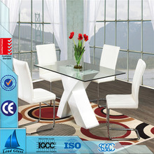 3-19mm Decorated Glass Dining Table Top