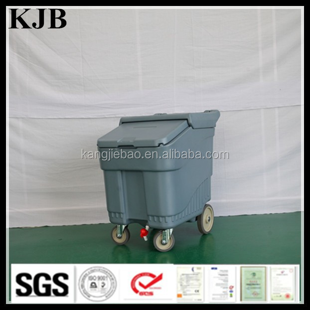 KJB-C02 ICE STORAGE CART WITH WHEELS, ICE STORAGE CART, ICE STORAGE CADDY