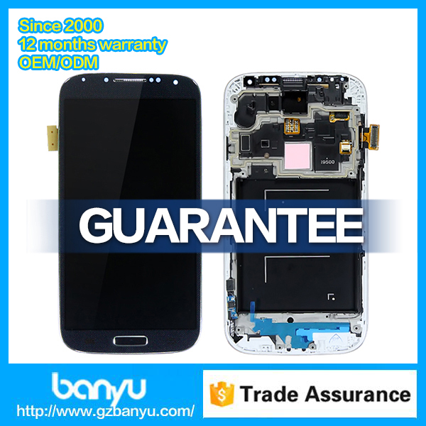 Wholesale smartphone parts for galaxy s4 gt-i9500 lcd screen and digitizer assembly