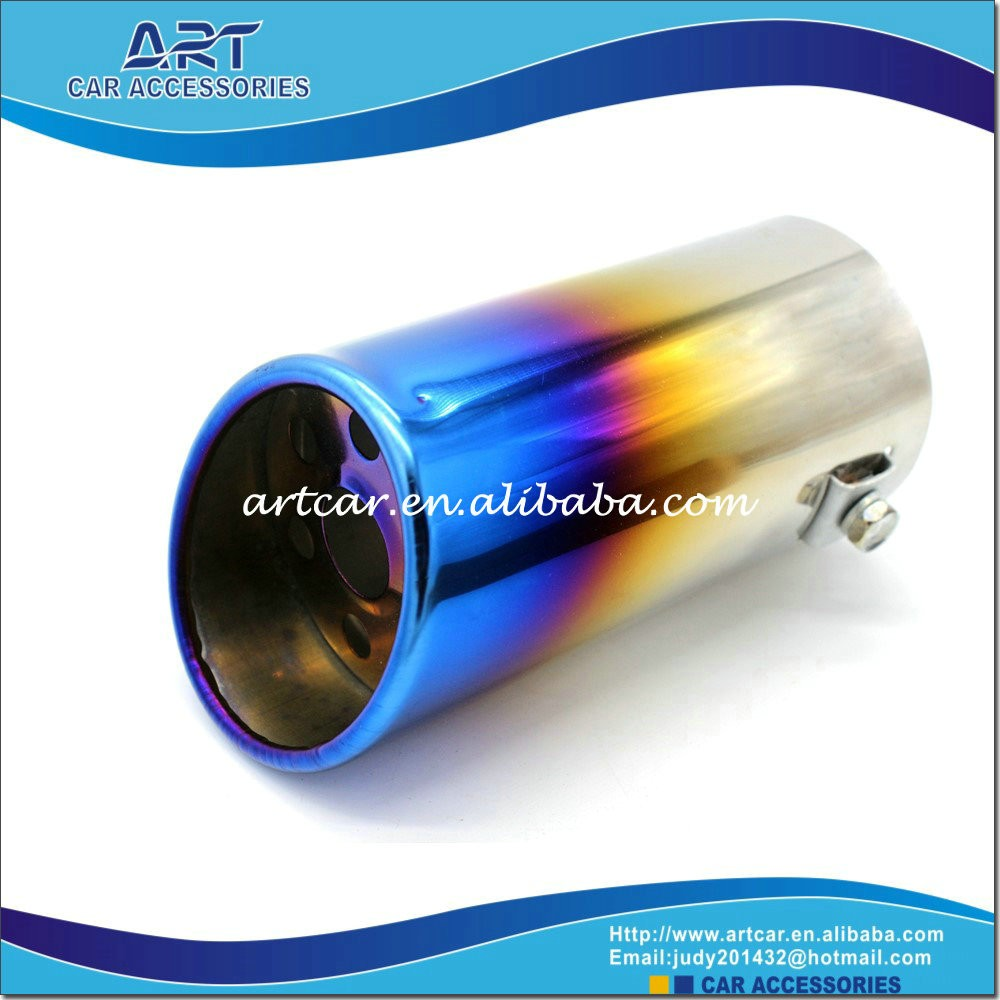 different types of muffler exhuast pipe