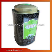 tin metal coffee canister box