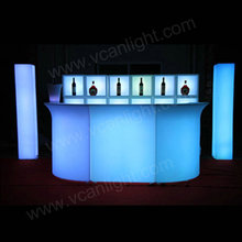 RGBW 16 colors waterproof juice bar counter for sale for nightclub